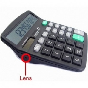 Spy Calculator Camera Recorder - Wireless spy calculator Camera with portable receiver