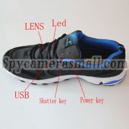 sneaker spy new 32gb men sports shoes pinhole spy hidden hd camera recorder 1280x720p. Black Bedroom Furniture Sets. Home Design Ideas