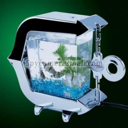 USB Mini Silver Fish Tank Hidden Spy Camera 16GB