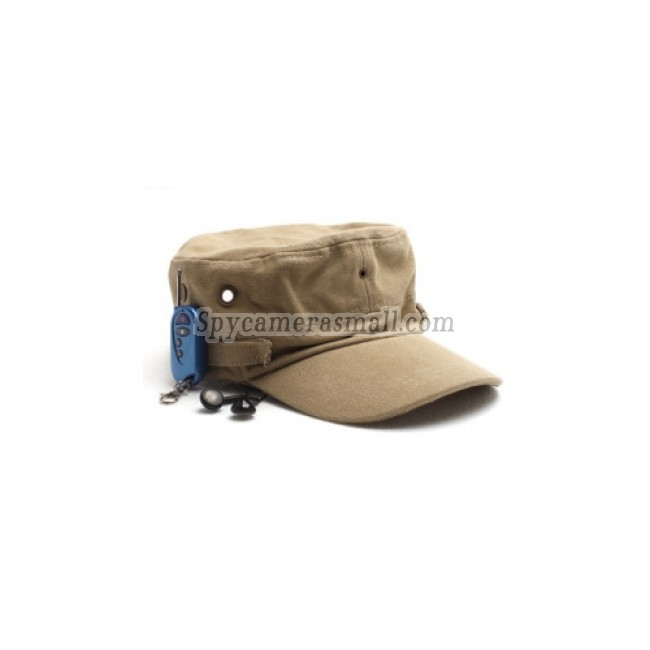 spy gadgets - Spy Camera In Hat Style With Bluetooth and MP3 Functions
