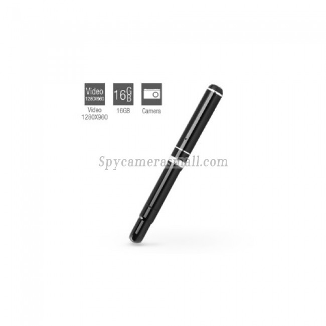 Spy Pen cam - HD Spy Pen Camera with Web Camera (16GB)