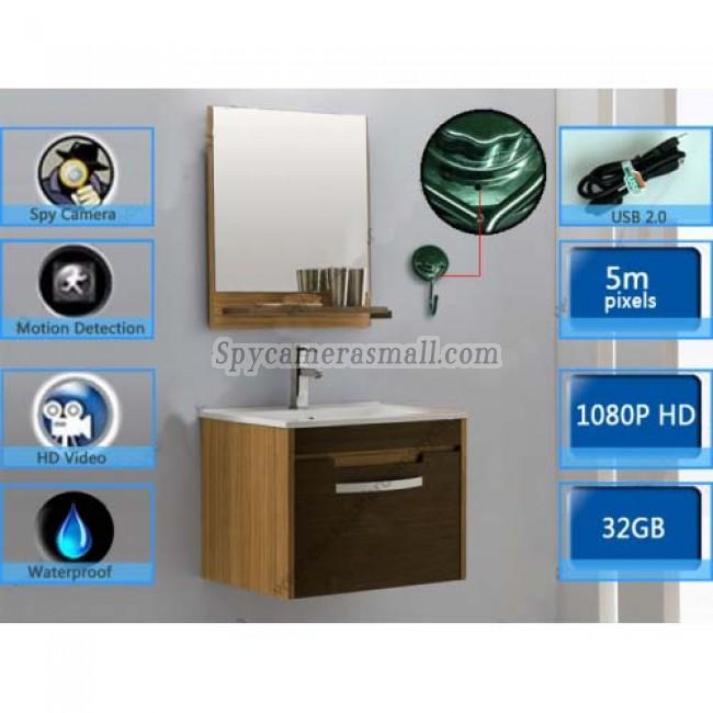 Kleiderhaken-hd spy camera Full HD 32G DVR 1080P mit bewegungsmelder besten spionkamera