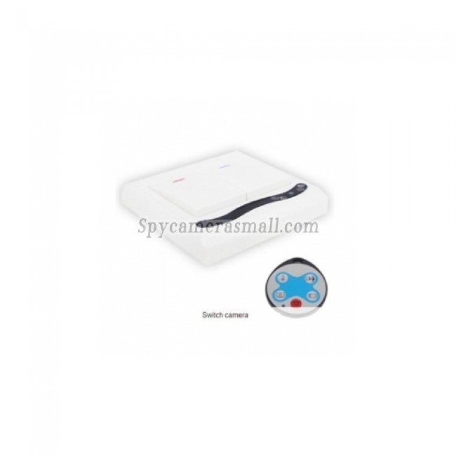spy dvr - IR Power Switch Design Home Security Camera With Motion Detect Remote Control