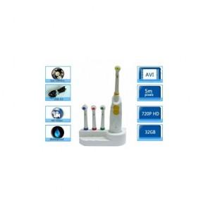 Toothbrush Hidden Bathroom Spy Camera - Low Luminous Bathroom Spy Toothbrush Camera With Motion Detection