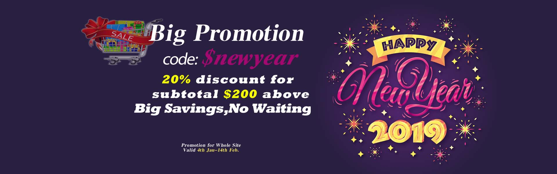 promotion Happy New Year